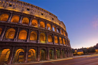 Colloseum at night, Italy Wall Mural-Buildings & Landmarks-Eazywallz