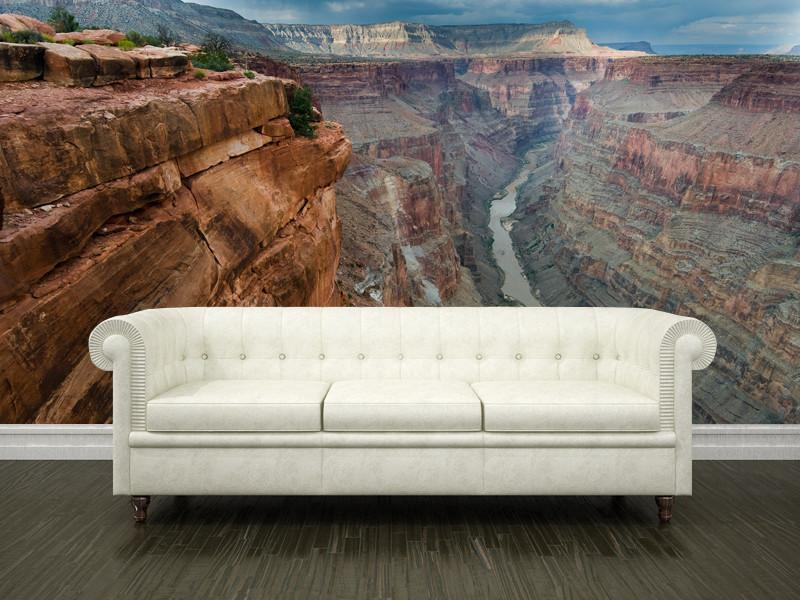 Colorado River and Grand Canyon, USA Wall Mural-Buildings & Landmarks,Landscapes & Nature-Eazywallz