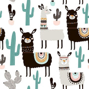 Desert Llama Removable Wallpaper-wallpaper-Eazywallz
