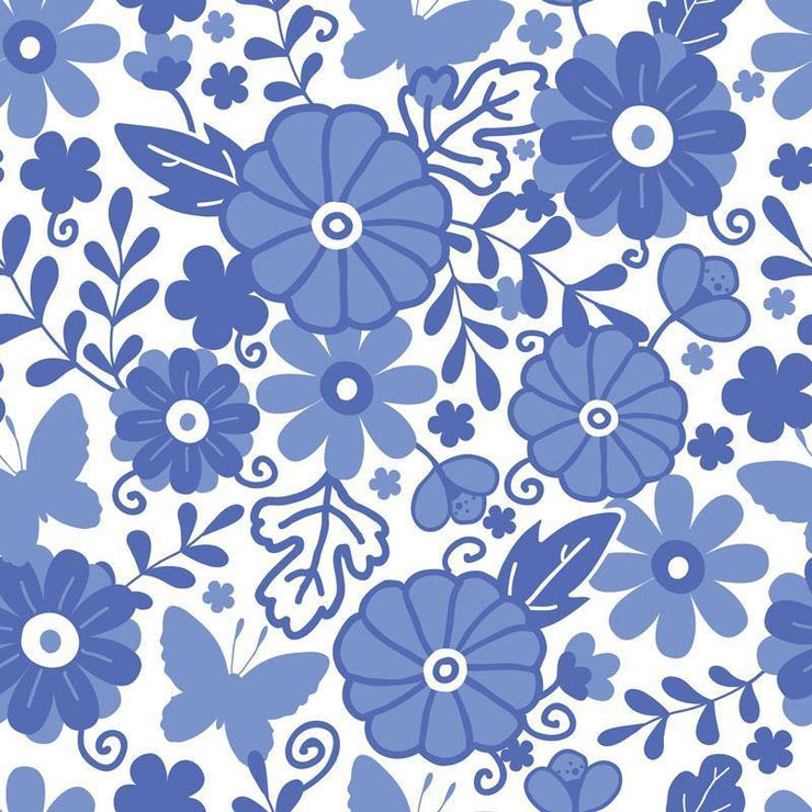 Dutch Flowers Removable Wallpaper-wallpaper-Eazywallz