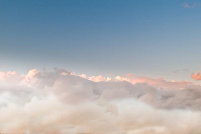 Evening above the clouds Wall Mural-Landscapes & Nature-Eazywallz