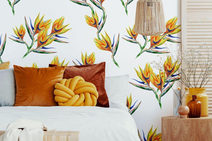 Fleur de Paradis Removable Wallpaper-wallpaper-Eazywallz
