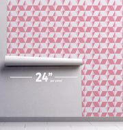 Geometric Diamonds Removable Wallpaper-wallpaper-Eazywallz
