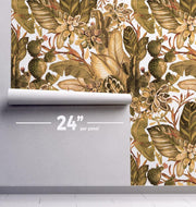 Golden Forest Removable Wallpaper-wallpaper-Eazywallz