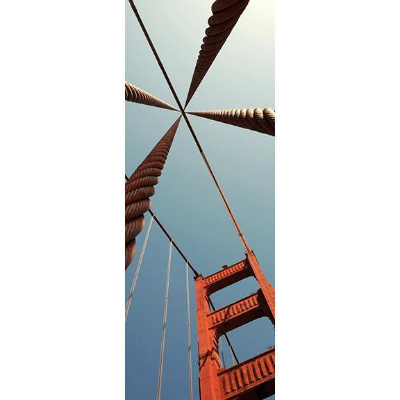 Golden Gate Bridge Door Mural-Door Mural-Eazywallz