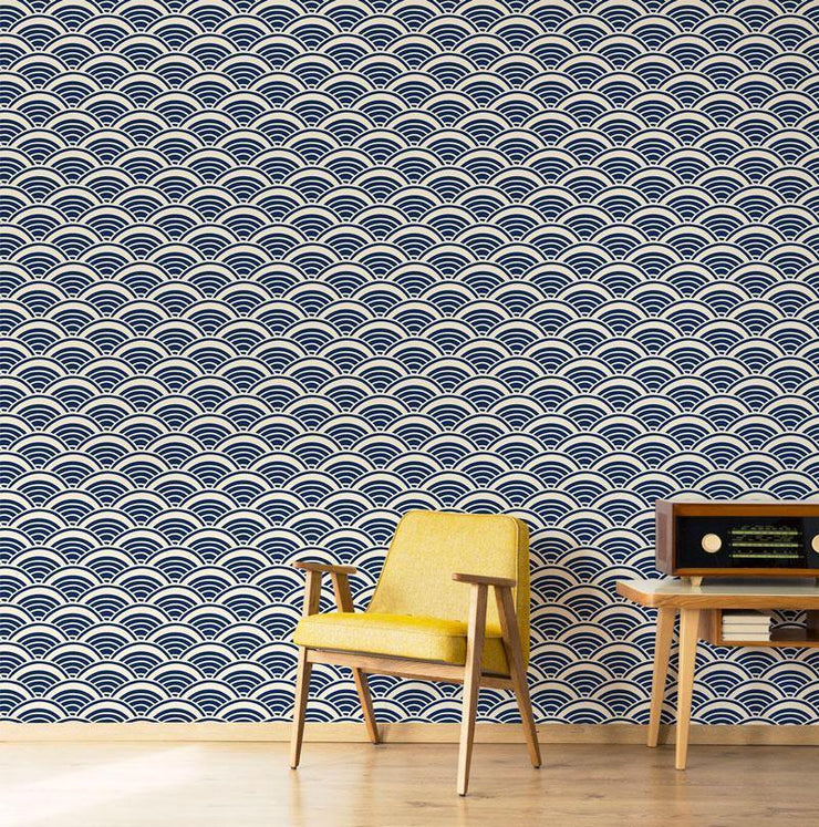 Hand Drawn Shells Removable Wallpaper-wallpaper-Eazywallz