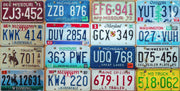 License Plate Table Skin-Table Top Wrap-Eazywallz