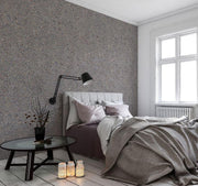 Mixed Grey Cement Removable Wallpaper-wallpaper-Eazywallz