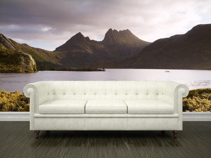 Mountains in Tasmania Wall Mural-Landscapes & Nature-Eazywallz