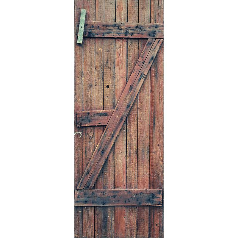 Old Wooden Door Mural Eazywallz