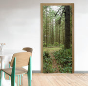 Oregon Forest Trail Door Mural-Door Mural-Eazywallz