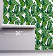 Palm Leaves Removable Wallpaper-Wall Mural-Eazywallz