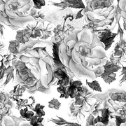 Pencil Peonies Removable Wallpaper-wallpaper-Eazywallz