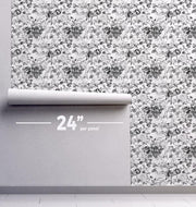 Peonies Removable Wallpaper-wallpaper-Eazywallz