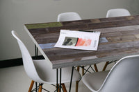 Reclaimed Wood Table Skin-Landscapes & Nature-Eazywallz