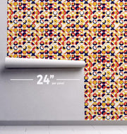 Sentempa Suns Removable Wallpaper-wallpaper-Eazywallz