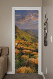 Summer Landscape in the Mountains Door Mural-Door Mural-Eazywallz