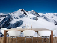 Swiss alpine mountain Wall Mural-Landscapes & Nature-Eazywallz