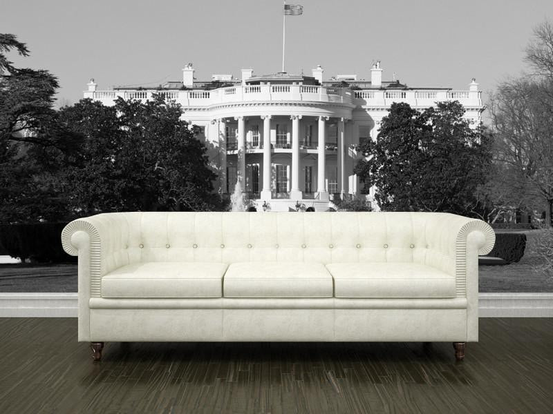 The White House, USA Wall Mural-Buildings & Landmarks-Eazywallz