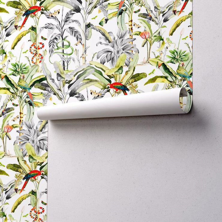 Tropical Haute Removable Wallpaper-wallpaper-Eazywallz
