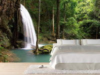 Waterfall in Thailand Wall Mural-Landscapes & Nature-Eazywallz