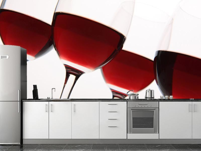 Wine glasses Wall Mural-Food & Drink-Eazywallz