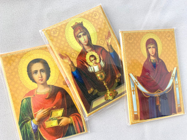Set of 3 Religious Magnets