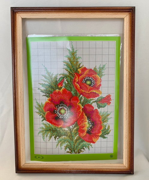 Poppies Embroidery Kit