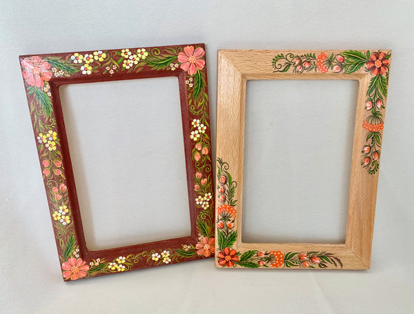 Set of 2 Painted Frames