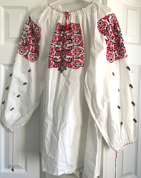 Finely Hand-Embroidered Ladies Blouse