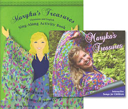 Maryka's Treasures Sing-Along Book and CD