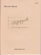 Diptych - for string quartet