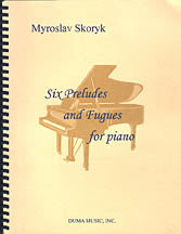 Six Preludes and Fugues for piano