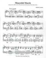 Mournful March - Works for Piano solo