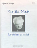 Partita No. 6 for String Quartet