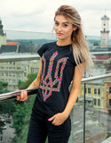 Ladies Black T