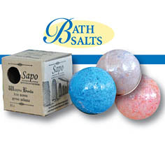 Carpathian Bath Salt Spheres - Floral Collection