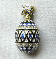 Pysanka in Faberge Style -Embroidery Design