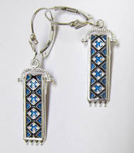 Rushnyk Earrings (Silver)