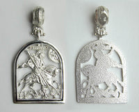 St. George Silver Pendant