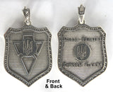 UPA Silver Shield Pendant