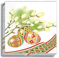 Pysanky Design Dinner Napkins 13x13 in.