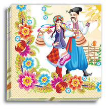 Nese Halia Vodu Dinner Napkins 13x13 in.