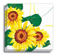Sunflowers Dinner Napkins  13x13 in.