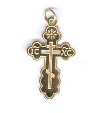 Orthodox Cross 14K - Big