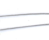 Sterling Silver Snake Chain 16 in 1.5 mm