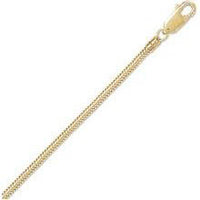Gold Plated Snake Chain 16-18 in. (thin)