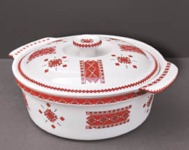ROUND CASSEROLE WITH LID - Small