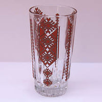 WATER GLASS with Embroidery Design