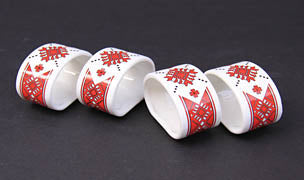 Napkin Ring 2.25x1.75 in. (each)